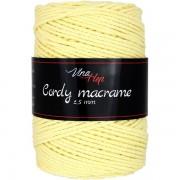 Příze Cordy Macrame, 8176, vanilková