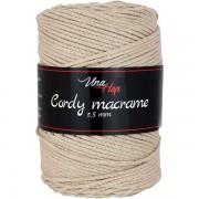 Příze Cordy Macrame, 8214, béžová