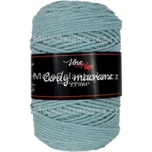 Příze Cordy Macrame, 8421, zeleno-šedá