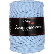 Příze Cordy Macrame, 8422, světle modrá
