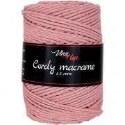 Příze Cordy Macrame, 8423, starorůžová