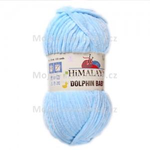 Příze Dolphin Baby, 80306, modrá světlá