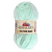 Příze Dolphin Baby 80307, zelená světlá