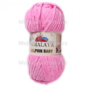 Příze Dolphin Baby, 80309, růžová
