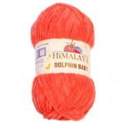 Příze Dolphin Baby, 80312, lososová (oranžová)