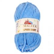 Příze Dolphin Baby, 80327, modrá