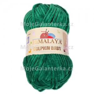 Příze Dolphin Baby, 80331, tmavě zelená