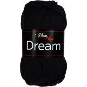 Příze Dream, 6001, černá