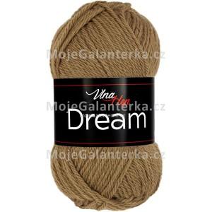 Příze Dream, 6406, světle hnědá