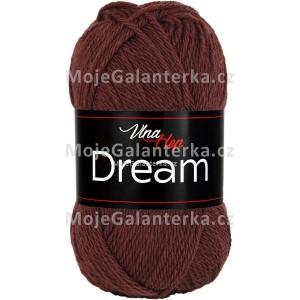 Příze Dream, 6407, hnědá