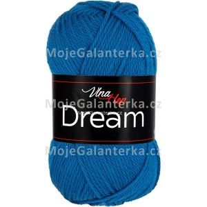 Příze Dream, 6408, královská modrá