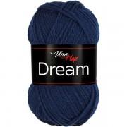 Příze Dream, 6409, tmavě modrá