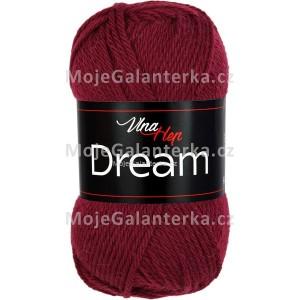 Příze Dream, 6412, bordó