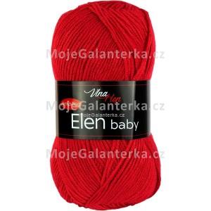Příze Elen Baby, 4019, červená