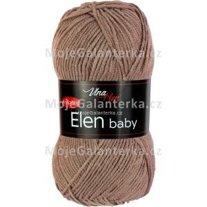 Příze Elen Baby, 4223, hnědošedá