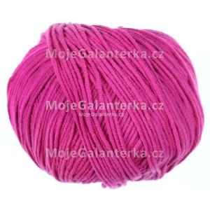 Příze Etrofil Jeans, 035, tmavě růžová