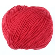Příze Etrofil Jeans, 036, červená