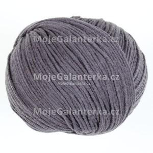 Příze Etrofil Jeans, 065, uhelná šedá