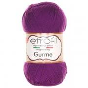 Příze Gurme, 70678, tmavě fialová