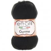Příze Gurme, 70978, černá