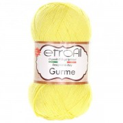 Příze Gurme, 72008, světle žlutá