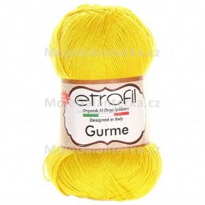 Příze Gurme, 72042, žlutá