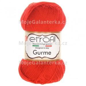Příze Gurme, 73046, červená