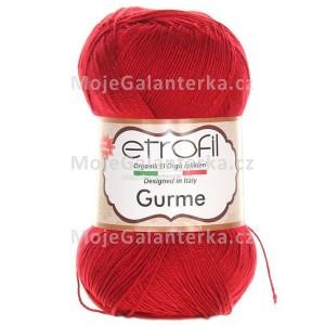 Příze Gurme, 73047, rudá