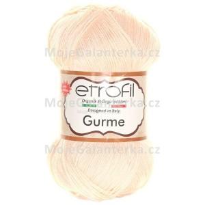 Příze Gurme, 73094, světle meruňková