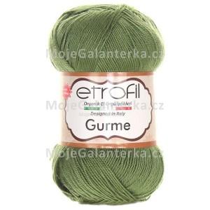 Příze Gurme, 74022, khaki