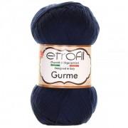 Příze Gurme, 74026, tmavě modrá