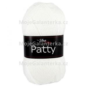 Příze Patty, 4002, bílá