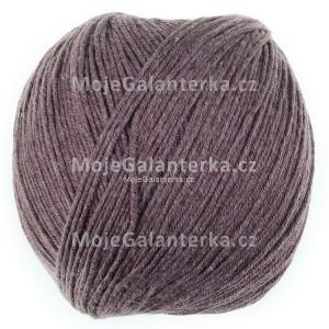 Příze Perlina, 50114, hnědá melanž