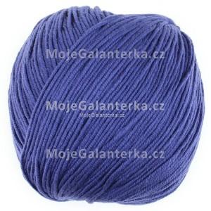 Příze Perlina, 50123, modrofialová