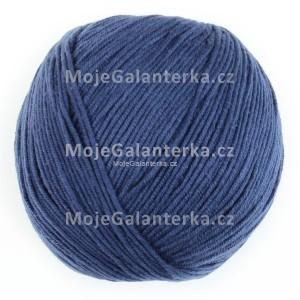 Příze Perlina, 50153, modrá