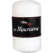 Příze PP Macrame (VH), 4002, bílá