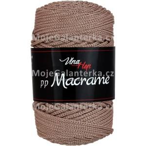 Příze PP Macrame (VH), 4218, hnědá (kávová)