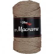 Příze PP Macrame (VH), 4224, šedohnědá