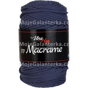 Příze PP Macrame (VH), 4602, tmavě modrá