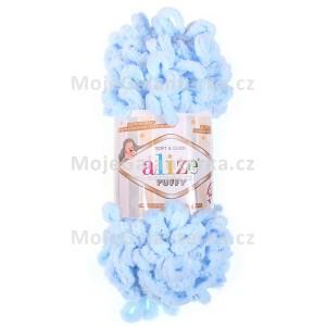 Příze Puffy, 183, světle modrá