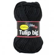 Příze Tulip Big, 4001, černá