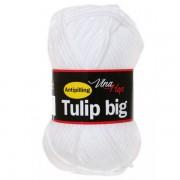 Příze Tulip Big, 4002, bílá