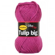 Příze Tulip Big, 4048, purpurová (fialovo růžová)