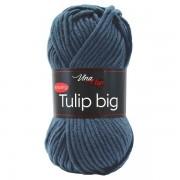 Příze Tulip Big, 4114, kouřově modrá