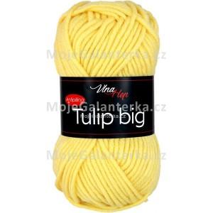 Příze Tulip Big, 4186, žlutá