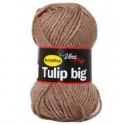 Příze Tulip Big, 4223, hnědošedá