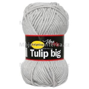 Příze Tulip Big, 4230, světle šedá