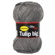 Příze Tulip Big, 4235, šedá