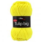 Příze Tulip Big, 4312, neonově žlutá