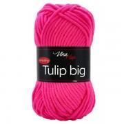 Příze Tulip Big, 4314, neonově růžová